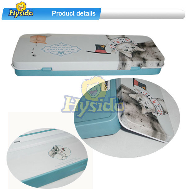 Metal Tin Pencil box