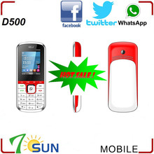 alibaba express D500 low price china mobile phone