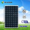 Bluesun TUV/ISO/CE/IEC standard pv system use photovoltaic 250 watt mono solar panel