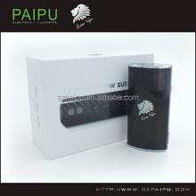 Vapor blunt Carbon Fiber box mod 510 thread 30w Lion Vape e flame vapor box mod Carbon Fiber vaporizer pen deluxe box mod