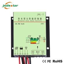 waterproof IP67 solar charger controller 24v 12v dc power solar regulator supply