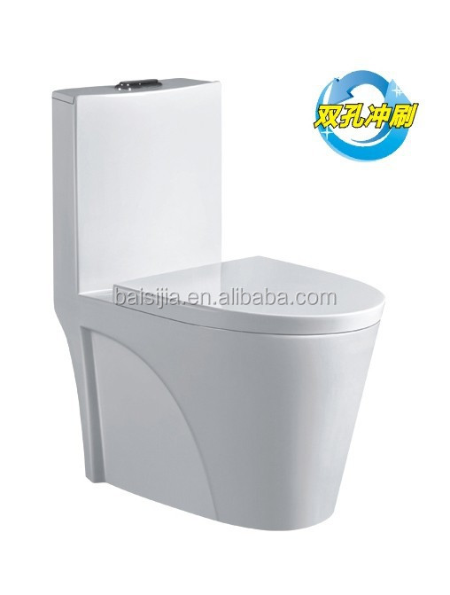 Bathroom ceramic one piece toilet/toilet seat/WC toilet F1002