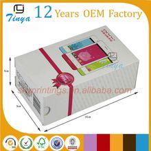 Custom box packaging for mobile phone cases