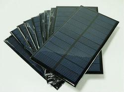 3W 195*125mm 9V poly solar pv module,solar panel price,epoxy reisin solar panel