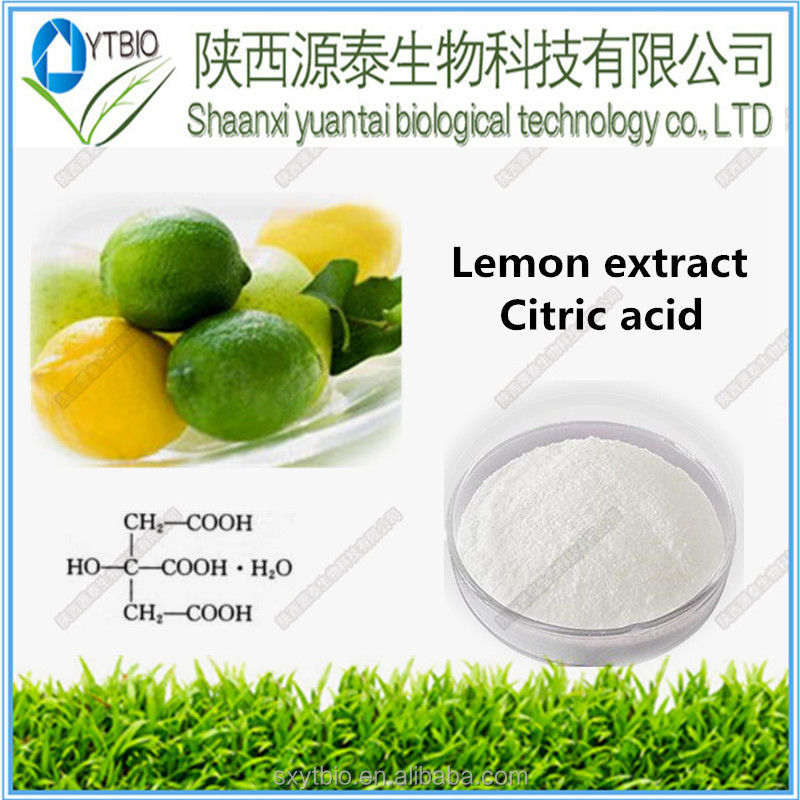 how to get citric acid from lemons
