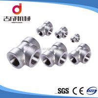 China support stainless steel 304L tee pipe