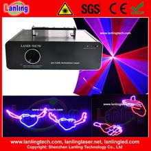 RBR Animación 600mW DJ de la etapa Luces del disco del laser del partido