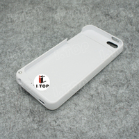 For iPhone 5 5S External Power Bank Portable Backup Battery Charger Case