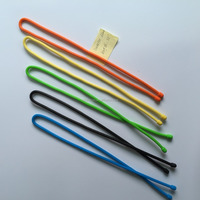 Customized Design Soft FDA and LFGB Approved Silicone Wire cable organizer/Silicone Cable Tie Holder
