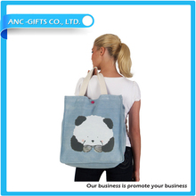 wholesale Hot Selling Printing Canvas tote Bag Stylish Cotton Shopping Bag Promotional fashion Women tote Bags