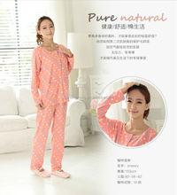 factory price 95%cotton5%spandex China sexy nighty design red
