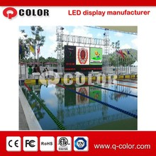 High resolution full color smd outdoor p10 NBA basketball score board from Shenzhen Q-color
