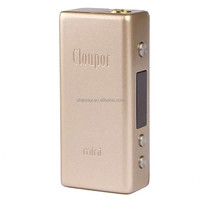 2015 popular product Clou Mini Style 30W 18650 Variable Wattage /Voltage VW/VV Box Mod clou mini 30w mod