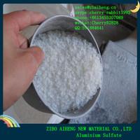 Water Treatment 16% 17% Flake Prices Aluminium Sulfate Granular And Powder