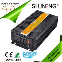 Solar power inverter 2500W pure sine wave 12v 24v