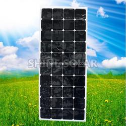130W flex Mono Solar Panel waterproof flexible solar panel light solar panel for special design
