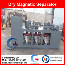high intensity dry magnetic separator 3pc disc belt type magnetic separation machine