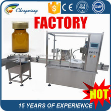 Famous brand electric parts automatic 10ml liquid filling machine,10ml bottle filling and capping