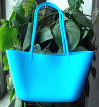 2015 rubber bag silicone beach bag and cheap silicone tote bag