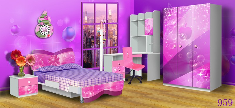 hot selling dongguan kids bedroom furniture sets cheap
