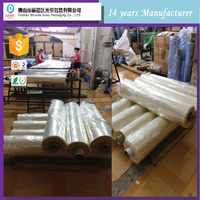 China clear package material pvc heat shrink film/plastic shrink film/shrink wrap in rolls