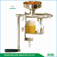 big discount manual oil press/hand operated oil press/hand crank oil press