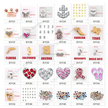 More options cheap zinc alloy floating charms wholsesale for living locket from China supplier