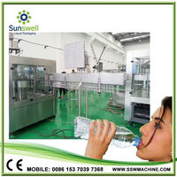China Factory Automatic No Gas Water Bottle Plant /Filling Equipment