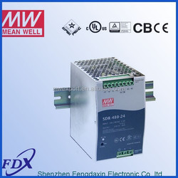 meanwell SDR-480-48 din rail power supply switching