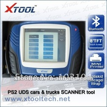 PS2 UDS diesel truck and gasoline cars diagnostic scanner with bluetooth