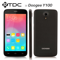 """5.0"""" 1280*720 MTK6592 Octa Core Cell Phone 1GB RAM 8GB ROM 13+8MP Android 4.4 Doogee Valencia 2 Y100 Mobile Phone"""