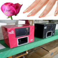 New Flower Nice design finger digital nail art printer machine with computer