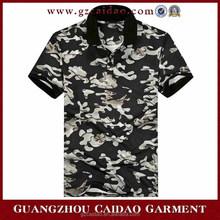 Custom men's new design polo t shirt in china