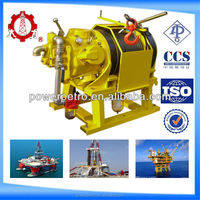 hot sale 5T fast speed dispatching air winch for construction sites
