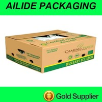 printing banana carton boxes package corrugated box manufacturer