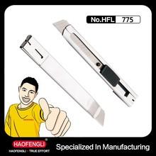 18mm Metal Handle Office Knife Cutter Knife Wholesale Utility Knife