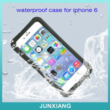 Hot selling 2015 Underwater Waterproof SnowProof DirtProof Durable Full Sealed Protective Case Cover for iphone 6