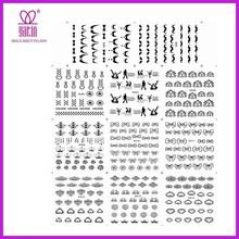 2015 HOT tattoo tattoo book temporary tattoo sticker water transfer glitter nail art