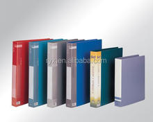 high-end quality clip file folders pp plastic file clip holder clip binder
