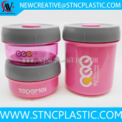 480ml+2*210ml School Days Cooler New Executive Thermal Picnic Jar Keep warm Bento Lunch Box Set w/3 Containers