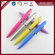 2015 New arrival pen and hot Promotional Metal Twist Mini Pen