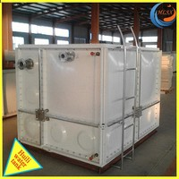 Large Fiberglass fish farming water tank /fish tank, portable water tank