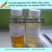 polymer monomer made concrete pce liquid for construction concrete