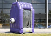 Advertising inflatable money machine/ inflatable cash machine/ inflatable cash cube