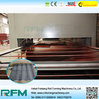 FX high quality stone coated metal roof tiles machine machine