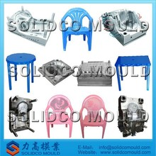 injection plastic chair and table mould making
