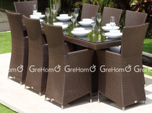 modern restaurant dinning table and chairs
