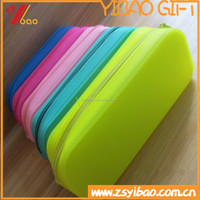 Candy color of the silicone pencil bag