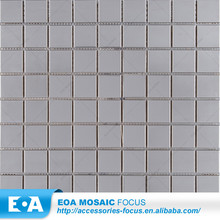 Roof Tile Ridge Cap Silver Stainless Steel Mosaic