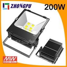 Outdoor Lighting Aluminum IP67 Cool White CE LED Lights 200w LED Flood Light